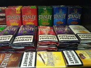 Сигаретный табак Stanley 30 гр. АССОРТИМЕНТ.