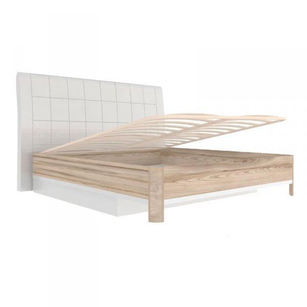 Кровать «Марта» 1200 (с подъемным механизмом и мягкой спинкой)