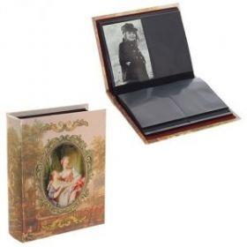 Фотоальбом (10х15 см,200 фото, 50 листов, 4 фото на листе), 23,5х19х6 см, (арт. 699663)