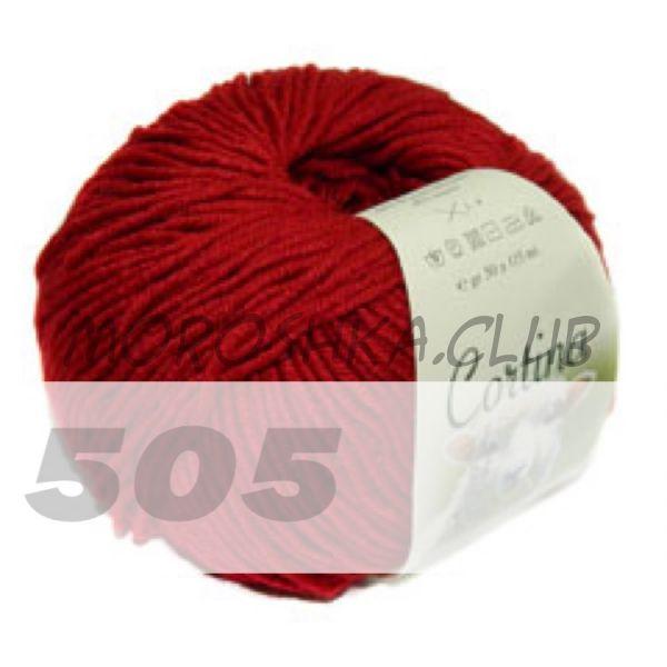 Красный Cortina (цвет 505)