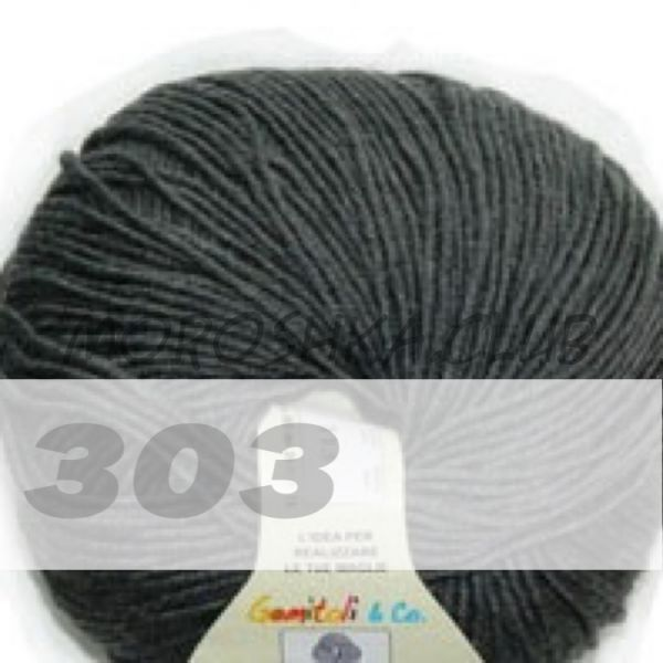 Тёмно-серый Martine BBB (цвет 303), упаковка 10 мотков