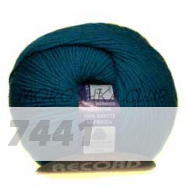 Морская волна Record BBB (цвет 7441), упаковка 10 мотков