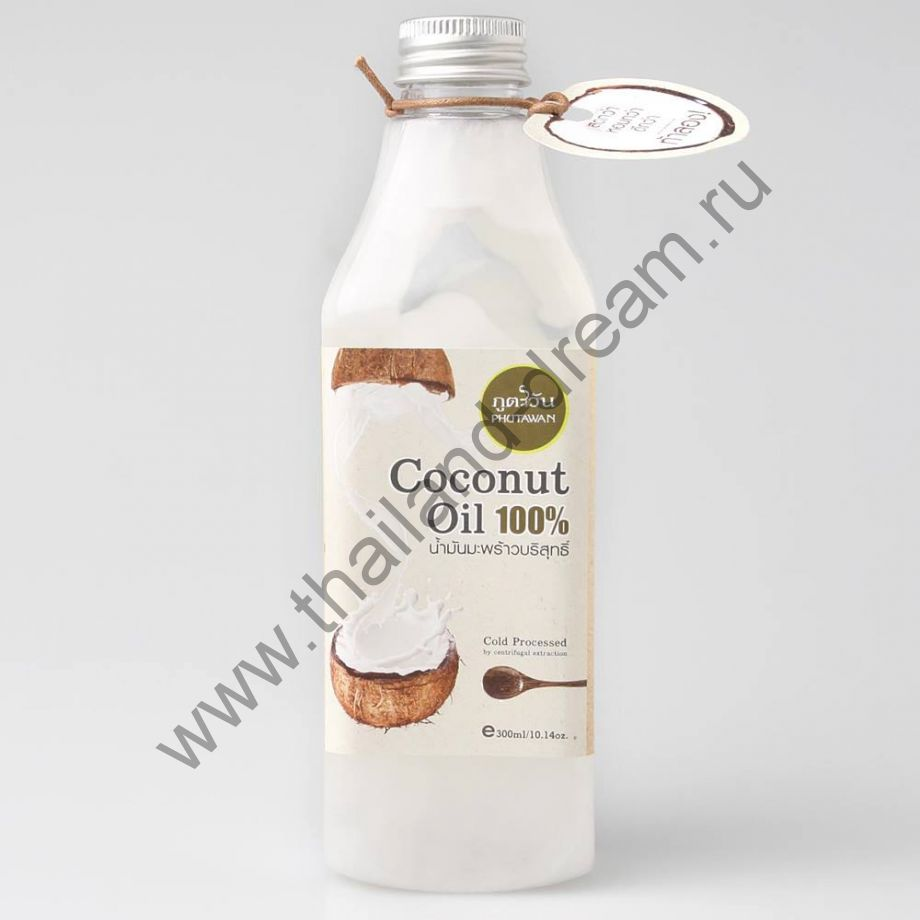 Кокосовое масло холодного отжима Phutawan 285мл