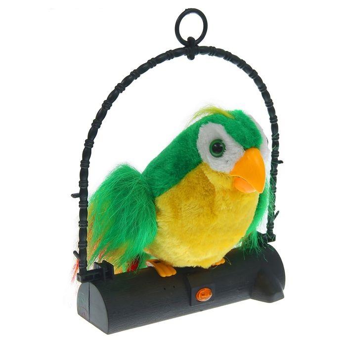 Попугай - повторюшка Гоша
