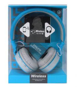 Bluetooth-наушники DeepBass MS-881A (blue)