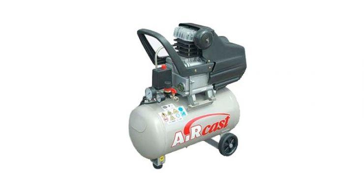 компрессор поршневой 200 л/мин, 8 бар, 1.5 кВт. 220 В, ресивер 24 л.