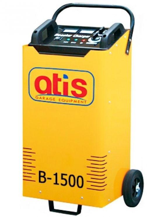Автоматическое пуско-зарядное устройство. Максимальный стартовый ток: 1500А. Эффективный ток зарядки: 15-60А. Зарядка  аккумуляторов емкостью: 35-1200 а/ч.  Позиции зарядки - 6 шт.: 8/15/20/26/33/42A.  Напряжение зарядки: 12/24V/220V. Потребляемая мощност