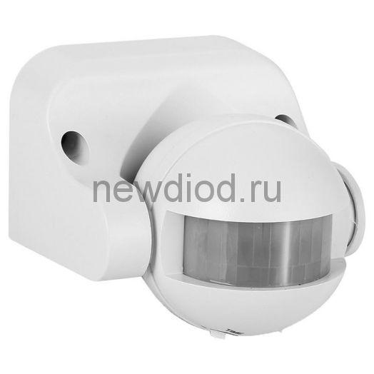 Датчик движения инфракрасный ДД-009-W  1200Вт 180 гр.12м IP44 белый ASD