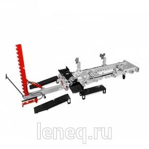 Рихтовочный стапель рамного типа грузоподъёмностью 2 т, с одним подкатным силовым устройством векторного типа с max усилием 10 т. (Эксперт 2000)
