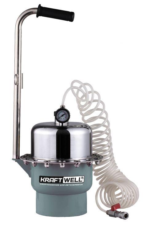 KraftWell KRW1883 Устройство пневматическое для прокачки гидросистем автомобиля
