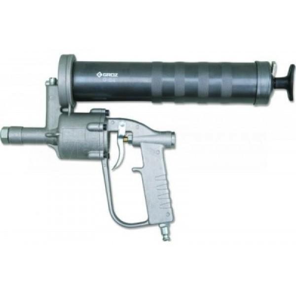 Пневмошприц для смазки 500мл с металлической трубкой (50:1, картридж 400гр)