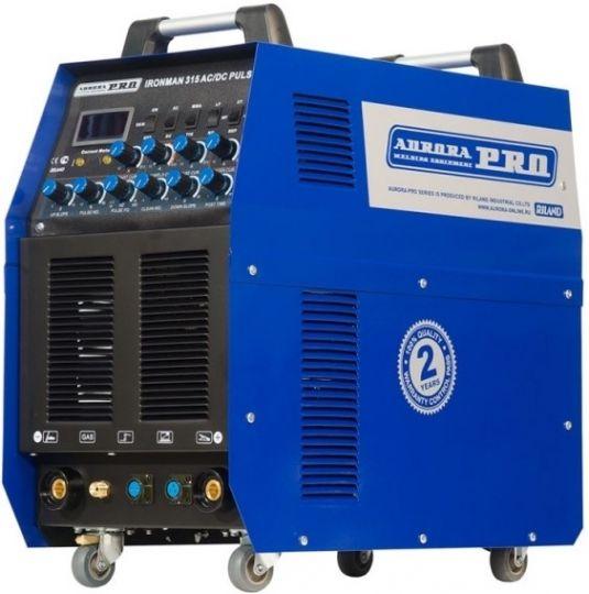 Индустриальный аппарат аргонодуговой сварки AuroraPRO IRONMAN TIG 315 AC/DC PULSE (TIG+MMA)