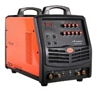Сварочный инвертор, типы сварки: ручная дуговая (MMA), аргонодуговая (TIG), макс. сварочный ток: 315 А (MMA), 315 А (TIG), мощность: 9 кВА, толщина металла: 0.50-15 мм, горячий старт.