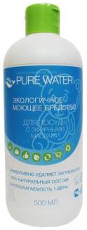 Pure Water Средство для мытья посуды с эфирным маслом эвкалипта 500 мл НК