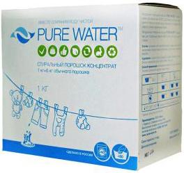 Pure Water Стиральный порошок 1 кг