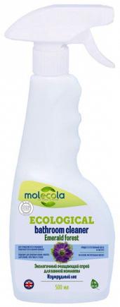 Molecola Очищающий спрей для ванной комнаты Emerald Forest Изумрудный лес Экологичный 500 мл