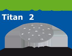 Шлифовальные круги STF D150/16 P280 TI2/100