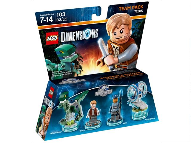Lego Dimensions 71205 Team Pack (Jurassic World)