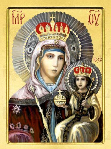 Галатская икона Божией Матери (рукописная)