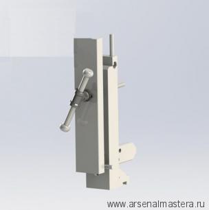 Тиски столярные вертикальные переставные с шириной подвижной губки 120 мм М00010240