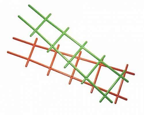 Решетка для вьюнов 56см (зеленая)