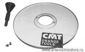 CMT300-SB2 База для крепления копировальных колец к фрезеру Triton TRA001 и СМТ7Е (S6,35-12,7 мм)