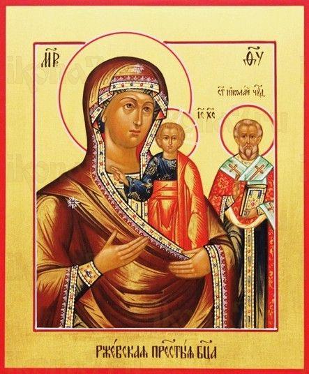 Оковецкая икона Божией Матери (рукописная)
