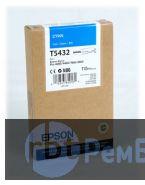 Картридж Epson T5432 с синими чернилами