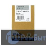 Картридж Epson T5437 со светло-черными чернилами