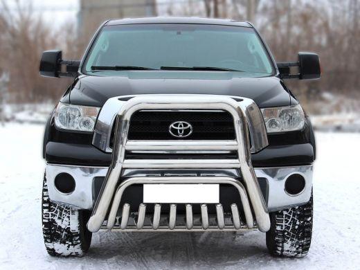 Дуга передняя высокая с доп. защитой картера (с доп. отб.) Toyota Tundra