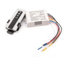 Блок управления для люстр и светильников на 3 канала, с пультом ДУ