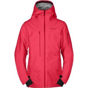 NORRÖNA RØLDAL GORE-TEX JACKET (M) Rebel Red