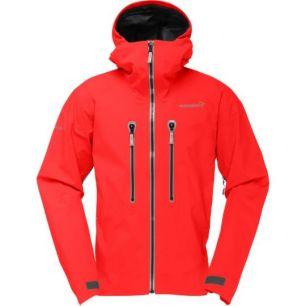 Norrona Trollveggen Gore Tex Pro Jacket Crimson Kick M