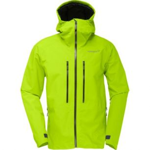 Norrona Trollveggen Gore-Tex Light Pro Jacket Birch Green M