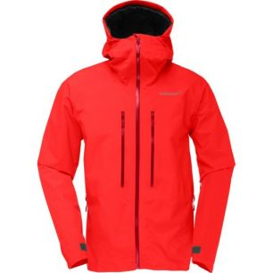 Norrona Trollveggen Gore-Tex Light Pro Jacket Crimson Kick M
