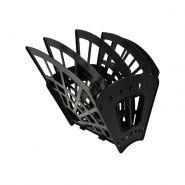 Лоток-веер 5 секц СТАММ Эконом черный/10 ЛТ414
