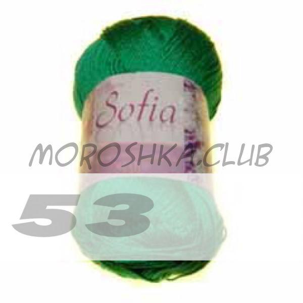 Цвет 53 Sofia, упаковка 10 мотков