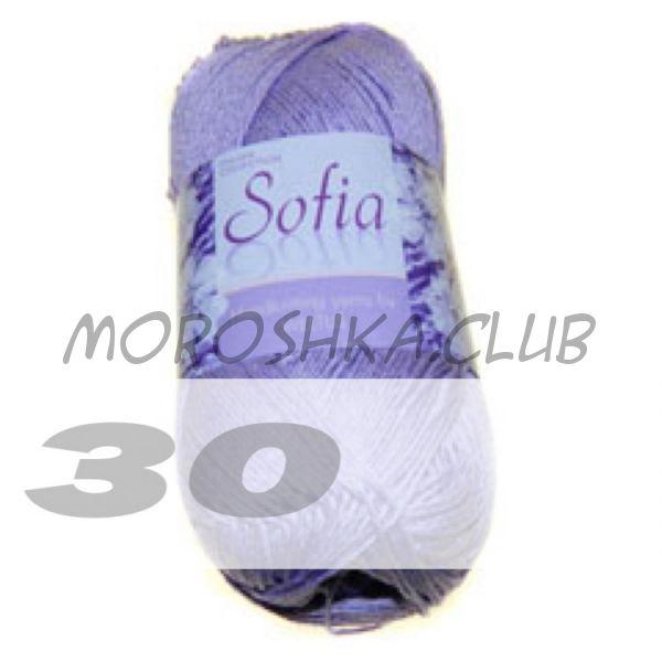 Цвет 30 Sofia, упаковка 10 мотков