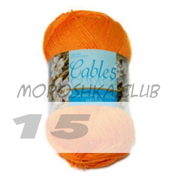 Цвет 15 Cable 5, упаковка 10 мотков