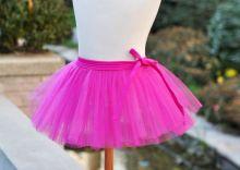 Юбка пачка танцевальная детская Розовая