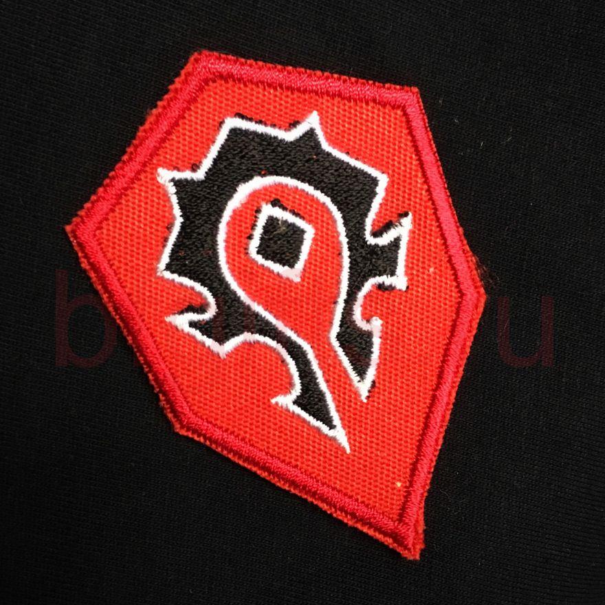 Шеврон герб Орды, по мотивам WARCRAFT