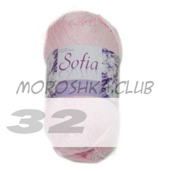 Цвет 32 Sofia, упаковка 10 мотков