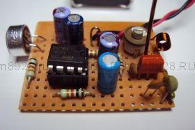 Радиоконструктор № 017, Микрофонный усилитель на микросхеме ВА4558