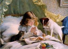 Завтрак (Репродукция Чарльза Барбера)