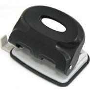 Дырокол 15л INDEX пласт корп черный/12 IPP115/BK