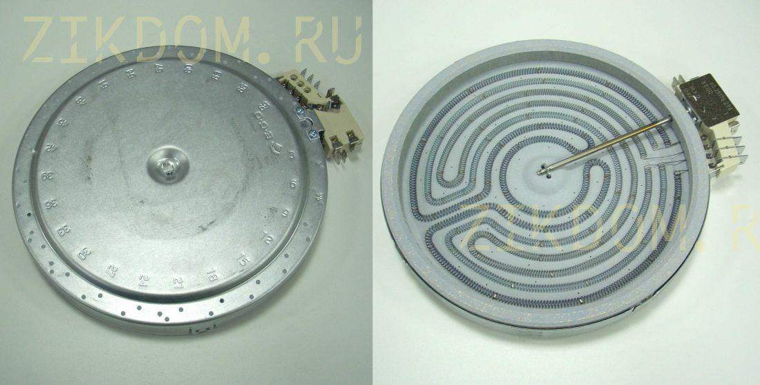 Электроконфорка для ст/керам. плиты EGO 1700W+700W D=180mm 10.58216.014