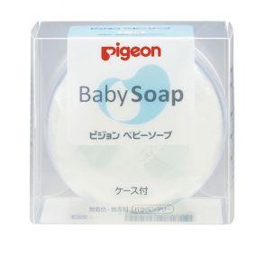 Детское натуральное мыло Pigeon с экстрактом сквалана и керамидами, коробка 90 гр.