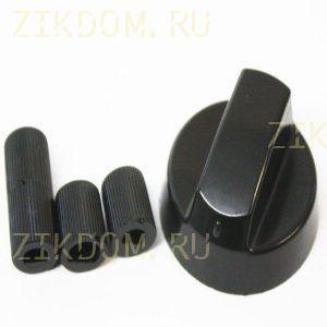 Ручка для газовой плиты универсальная серебро 43CU008