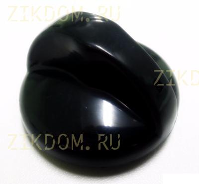 Ручка конфорки электроплиты Электра черная новый тип