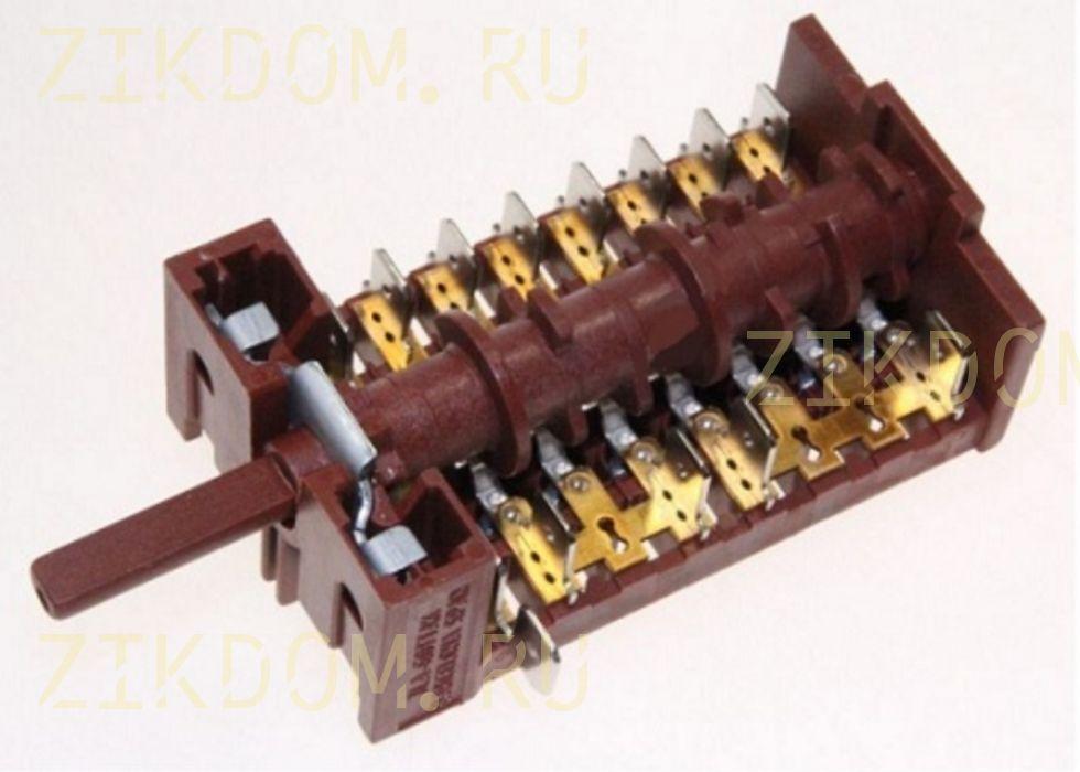 Переключатель конфорок плиты Beko 263900054 6 позиций